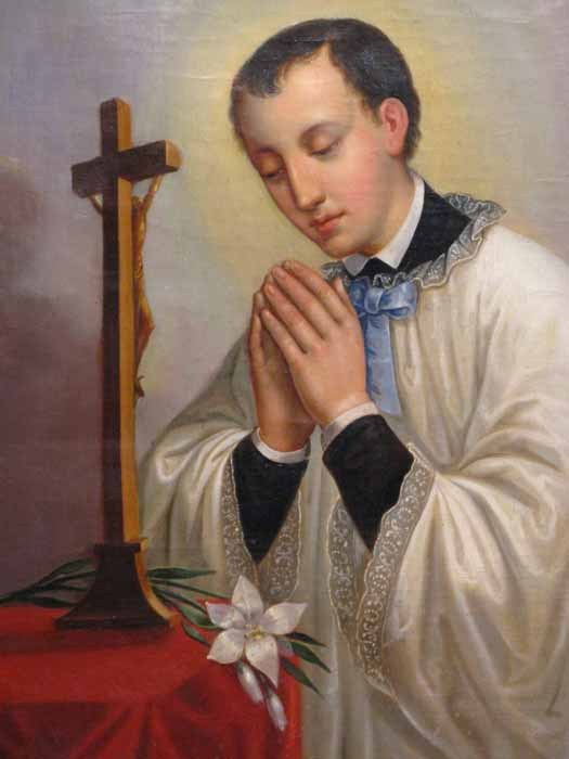 187 Today Christians Celebrate Feast Of St Aloysius Gonzaga