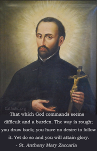 St Anthony Mary Zaccaria