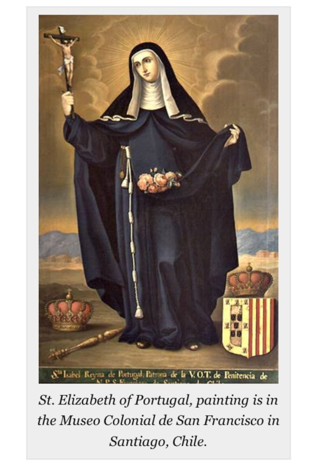 187 Today Christians Celebrate Feast Of St Elizabeth Of