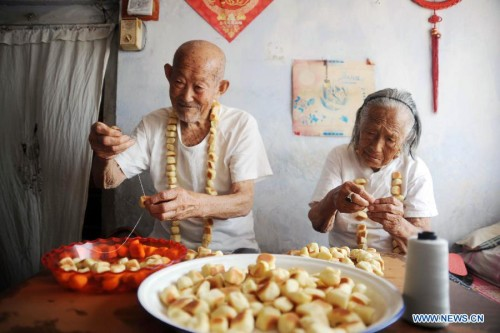Couple Greet Chinese Valentines Day