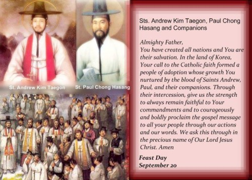 Sts Andrew Kim and Paul Chong