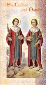 Sts Cosmas and Damian Martyrs