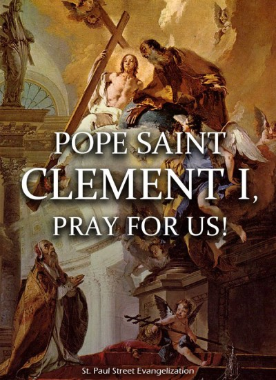 Pope St Clement I