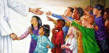 Children Coming to Jesus