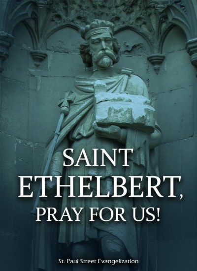 St Ethelbert of Kent