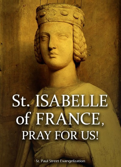 St. Isabelle of France