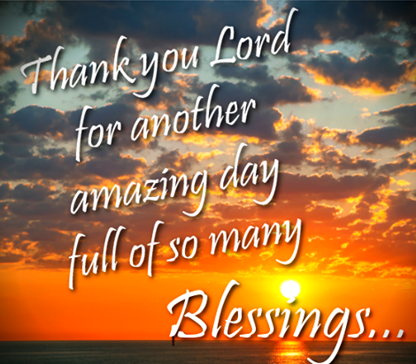 Thank You Lord