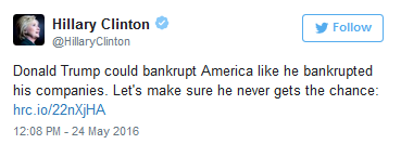 Hillary Clinton Debt