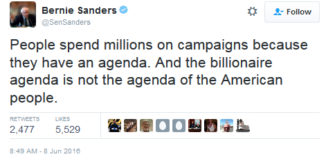 Millions on Campaigns