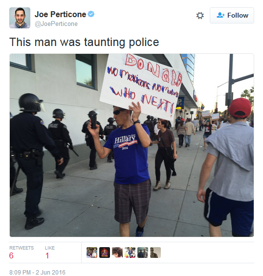 Taunting Cops