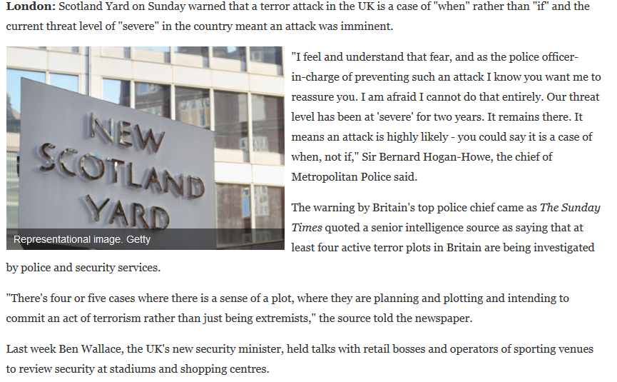 London Tereror Attack